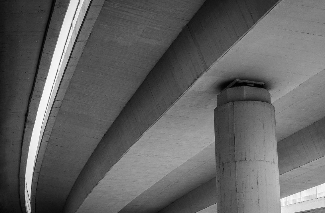 Concrete bridge construction materials