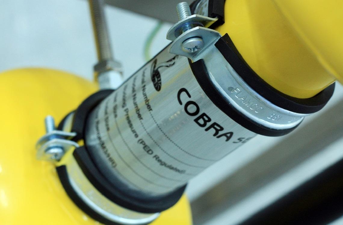 Cobra cyclone separator