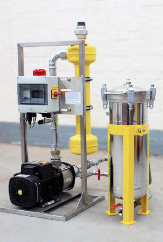 Cobra cyclone filtration