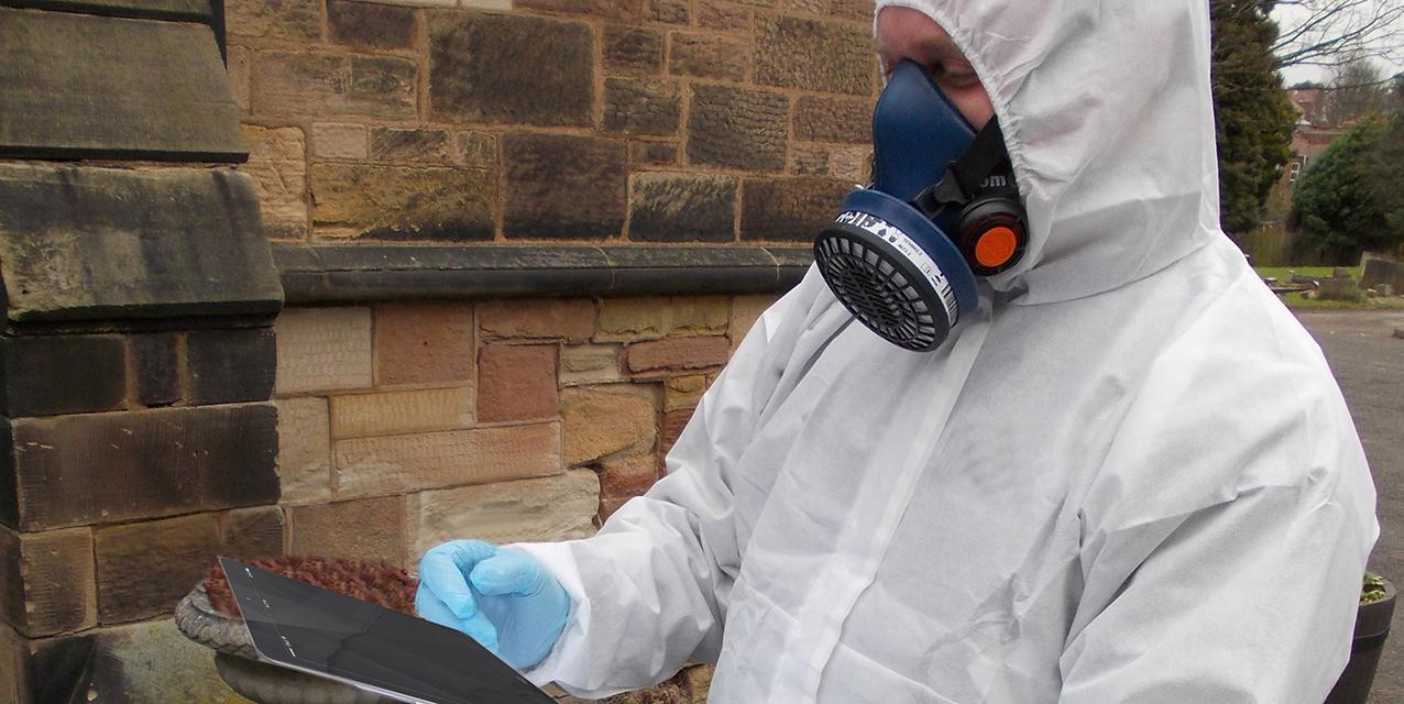 Asbestos survey with ipad